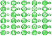 Green Medical Icons