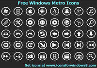 Free Windows Metro Icons pour mac