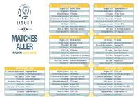 Calendrier officiel Ligue 1 2015/2016 pour mac