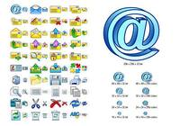 E-mail Icon Set pour mac