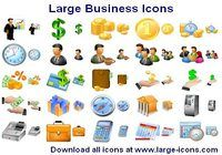 Large Business Icons pour mac