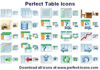 Perfect Table Icons