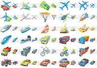 Transport Icons for Vista pour mac