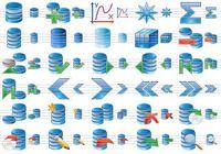 Database Icon Set pour mac