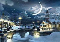 Snow Village 3D Screensaver