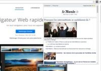 LeMonde News pour Chrome pour mac