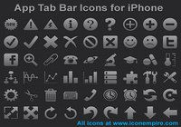 App Tab Bar Icons for iPhone pour mac