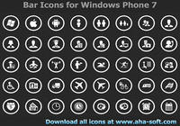 Application Bar Icons for Windows Phone 7 pour mac