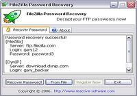 Password Recovery for FileZilla pour mac