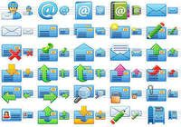 Small Email Icons pour mac