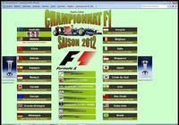 Championnat F1 2012 pour mac