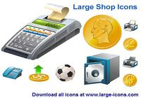 Large Shop Icons