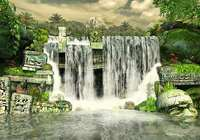 Mayan Waterfall 3D Screensaver