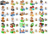 People Toolbar Icons pour mac