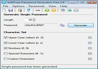 SoftFuse Password Generator Free pour mac