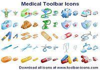 Medical Toolbar Icons pour mac
