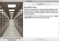PDF Password Recovery Analyzer for Mac pour mac