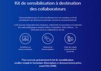 Kit de sensibilisation à destination des collaborateurs pour mac