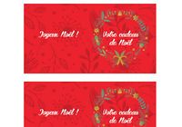 Noël - Carte cadeau imprimable pour mac