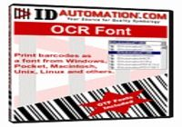 IDAutomation OCR-A and OCR-B Font Package pour mac