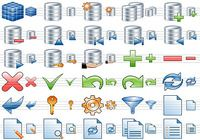 Database Toolbar Icons pour mac