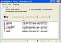 Winpopup Server pour mac