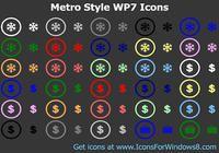 Metro Style WP7 Icons pour mac