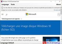 Windows 10 ISO Download Tool  pour mac