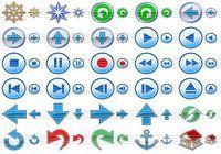 Navigation Toolbar Icons pour mac