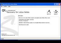 Recovery for Lotus Notes
