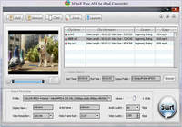WinX Free AVI to iPod Converter pour mac