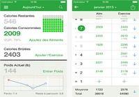 Compteur de Calories FatSecret iOS pour mac