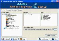 Adolix Outlook Express Backup
