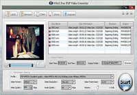 WinX Free PSP Video Converter pour mac