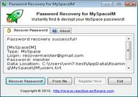 Password Recovery for MySpaceIM pour mac