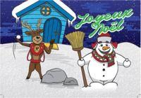 Carte Joyeux Noël pour mac