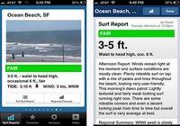 Surfline iOS pour mac