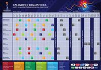 Calendrier Coupe du Monde féminine de football 2019  pour mac
