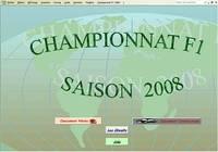 Championnat F1 2008 pour mac