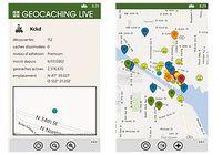 Geocaching Live Windows Phone pour mac