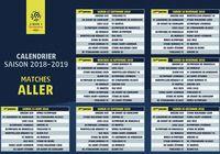 Calendrier Ligue 1 2018 - 2019 pour mac