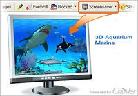Crawler 3D Marine Aquarium Screensaver pour mac