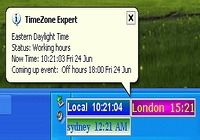 TimeZone Expert  world time zone clock pour mac