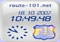 Horloge route-101.net pour mac