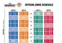 Calendrier Officiel de l'EuroBasket 2017 pour mac