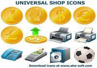 Universal Shop Icons
