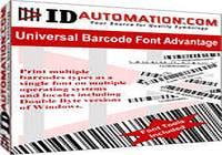 IDAutomation Universal Barcode Font pour mac