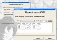 Convertisseur ASCII pour mac