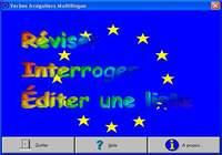 Verbes Irréguliers Multilingues pour mac