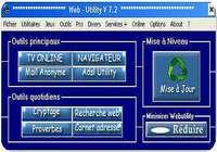 Web Utility pour mac